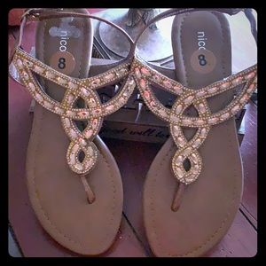 Nicole embellished Sandals